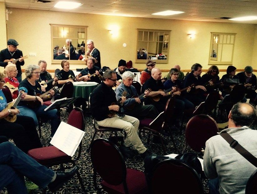 "Midland Ukulele Festival ""Weekend At Ralph's"" May 22-24, 2015"