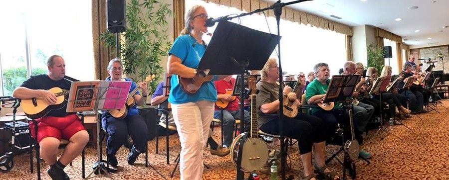 BUG performs for Oakpark Retirement Community June 2018