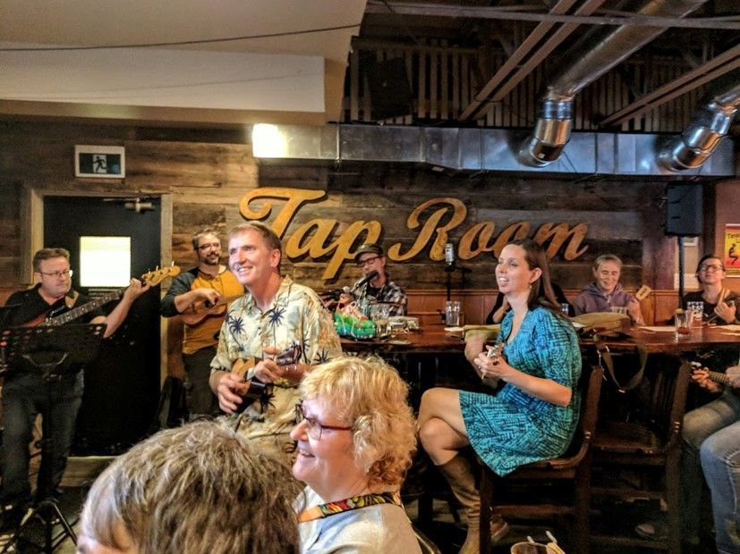 BUG Jam at the Clocktower Brew Pub September 2018