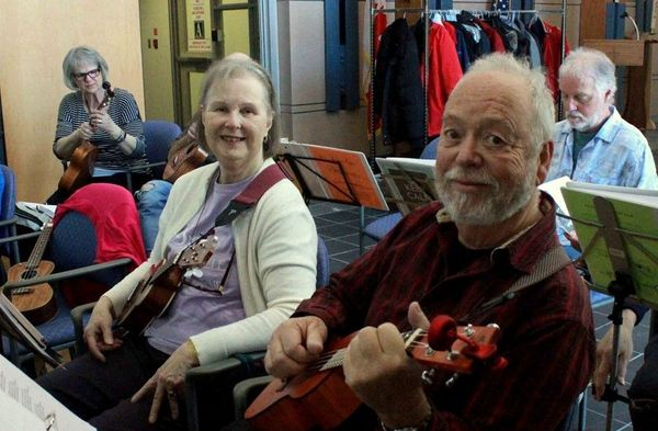 BUG performs for Perley and Rideau Veterans' Health Centre March 2019